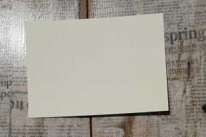 Papier glatt creme