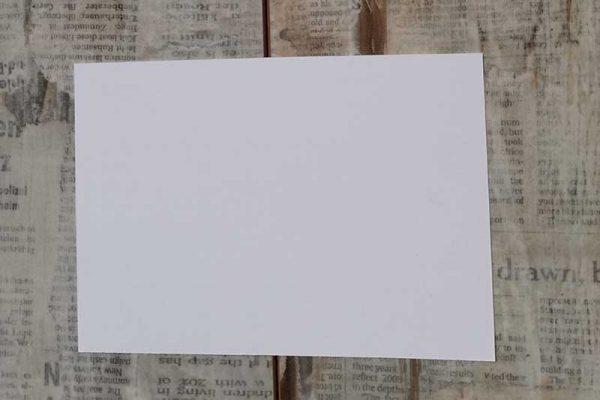 Papier glatt weiß